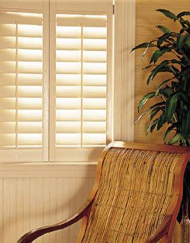 Custom Color w/ Antique Brass Hinges - Window Treatments
