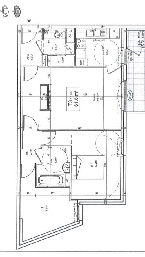 conseil am nagement petite cuisine 6m2. Black Bedroom Furniture Sets. Home Design Ideas