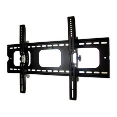 Mount-It! Tilt TV Wall Mount Bracket for Flat Screen TVs | Max VESA 850x450, Med
