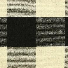 Dynamic Rugs Inc. - Royal Rug, Black/White, 8'x10' - Area Rugs
