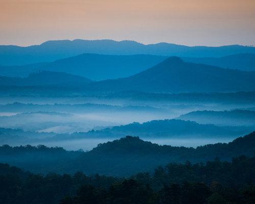 Blue Morning - Photographs