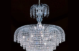 Empire 14-Light Chrome Finish with Clear-Crystals Chandelier