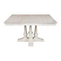 Beverly 54 inch Square Dining Table by Kosas Home