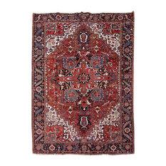 Consigned, Persian Rug, 9'x13', Handmade Wool Heriz