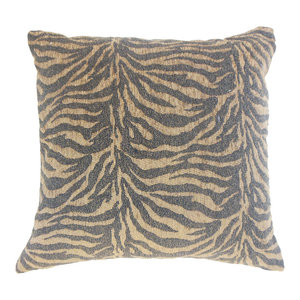 The Pillow Collection Banagher Animal Print Bedding Sham Orchid Queen//20 x 30