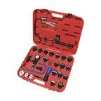 VidaXL Radiator Pressure Tester Vacuum Purge Cooling System Refill Tool Kit