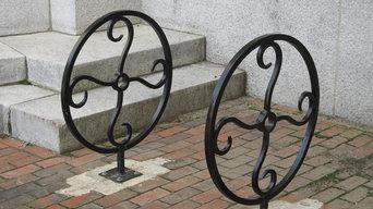 Bike rack for city of Bath, Maine