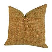 """HomeRoots Beddings, Handmade Throw Pillow, Kosoff Paprika, 20""""x26"""" Standard"""