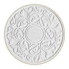 Victorian Lace Etched Stone Coasters, Set of 8
