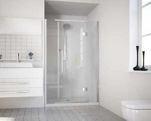 Newline Saturn Acrylic Shower Unit   Alcove   Shower Stalls And Kits