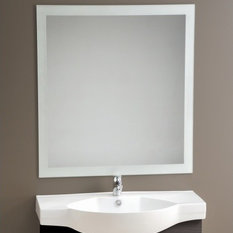 Clearlite Frosted Edge Mirrors Bathroom