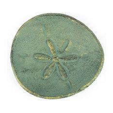 Handcrafted Nautical Decor - Cast Iron Sand Dollar Decorative Plate Antique Bronze 6   sc 1 st  Houzz & 50 Most Popular Decorative Plates for 2018 | Houzz