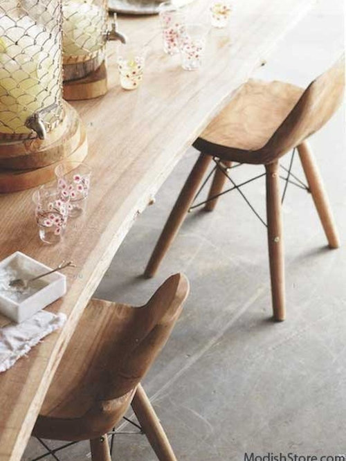 Roost Teak Eiffel Chair   Armchairs And Accent Chairs