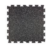 "BlockTile - 23""x23"" Professional Grade Interlocking Rubber Floor Tiles, Set of 9 - Number of Pieces Per 1 Quantity: 9"