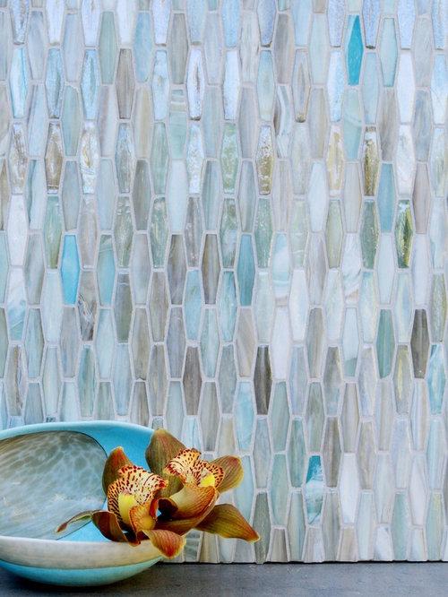 Blue Glass Mosaic - Tile