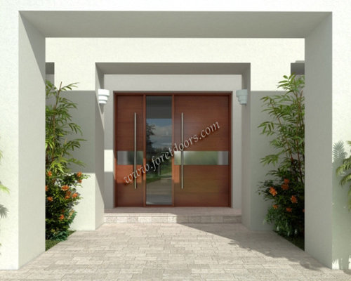 Modern Front Doors Contemporary Entry Doors By Foret Doors