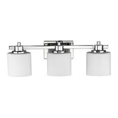 Plc lighting polished brass 3 wire connection Roundback Linear Chloe Lighting Inc Chloe Lighting Solbi 3light Chrome Finish Vanity Wall Home Depot 48inch Bathroom Vanity Lights Houzz