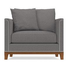 La Brea Studded Chair, Ash