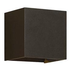 Vex Outdoor Wall Light, Bronze, 4000K