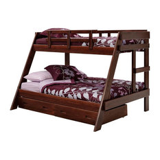 Twin Over Full A Frame Pine Bunk Bed