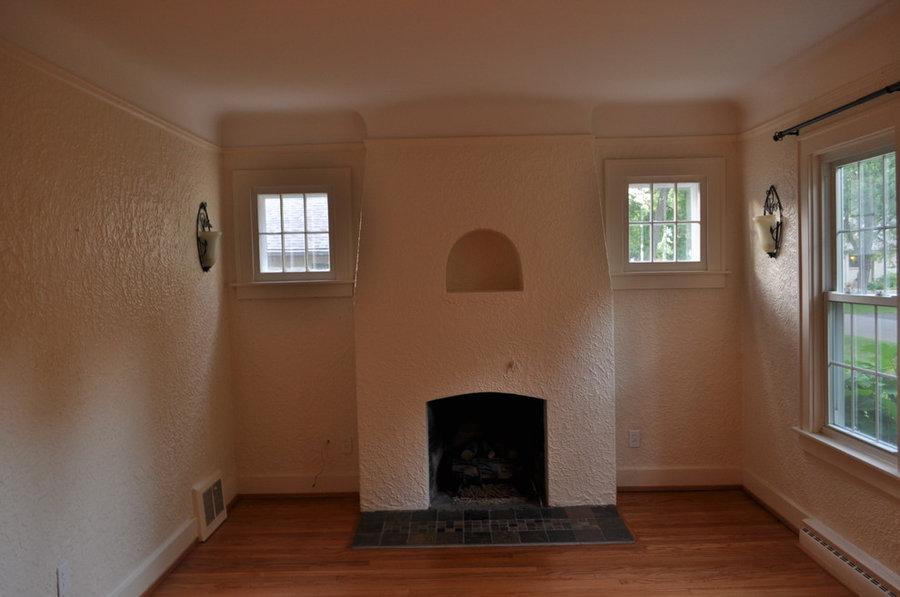 Living room - Clean slate