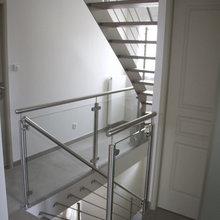 Escalier Inox pour Accès aux Combles