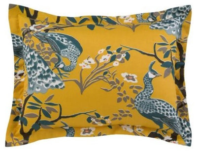 Eclectic Pillow Cases : House Proud: Peacock Grandeur in Home Decor