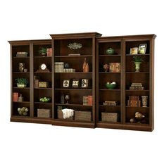 Howard Miller Oxford 5-Piece Bookcase Wall Unit Cherry