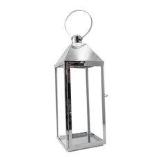 Decorative Silver Lantern, Large