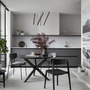 Источник вдохновения для домашнего уюта: столовая в современном стиле