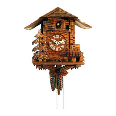 alexander taron engstler cuckoo clock full size with christmas tree