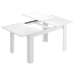 Kendra Extendable Dining Table, White
