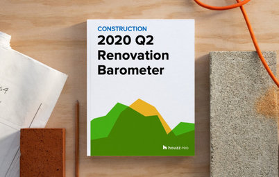 2020Q2 Houzz Renovation Barometer - Construction Sector