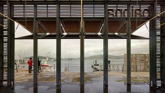 Estación Marítima en Baiona