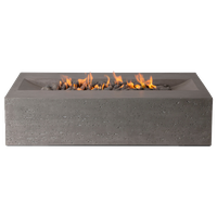Millenia Fire Table, Slate Gray, Propane