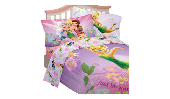 Disney Tinkerbell Bedding Set Be Yourself Comforter Sheets