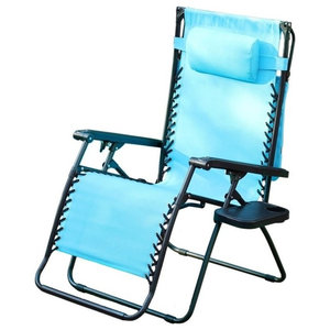 Bliss Hammocks Gravity Free Lounger W Canopy Head Rest