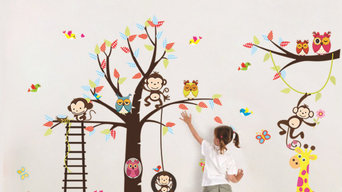 kamiqiwallz removable wall stickers
