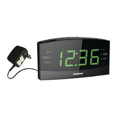 "Sylvania - Sylvania 1.8"" Jumbo Digit Alarm Clock Radio With Bluetooth - Alarm Clocks"