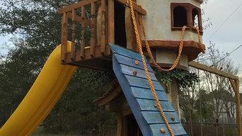 Rapunzel Castle Tree House