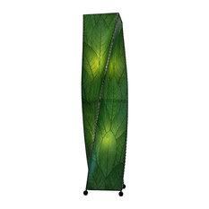 Large Twist Lamp in Green