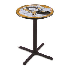 Pittsburgh Penguins Pub Table 36-inch by Holland Bar Stool Company