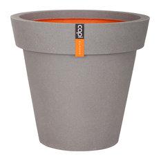 Tutch Rim Plant Pot, Grey