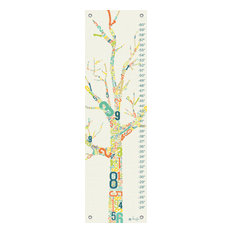 Growth Charts Numbers Tree by Marcie Carson
