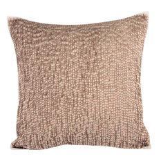 Drops Silk Decorative Cushion Cover, Gold, 35x35 cm