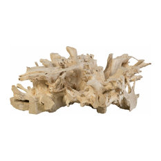 48-inchW Artisan Coffee Table Teak Wood Root One Of A Kind Natural Free Form