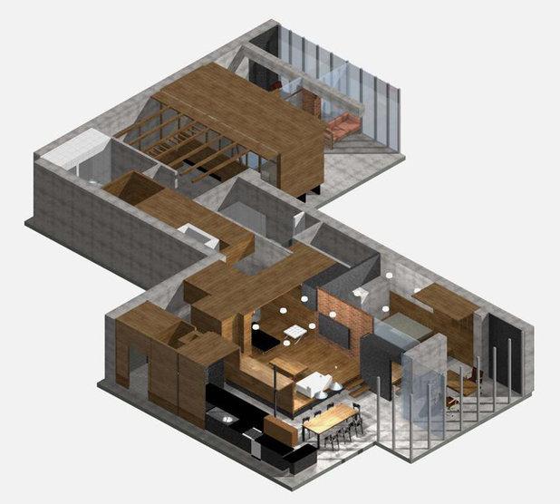 Современный План этажа by Алексей Розенберг