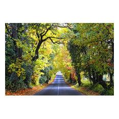 """""""Tuscan Autumn"""" Photo Print, Canvas Print, 100x70 cm"""