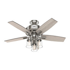 Bennett 3 Light 44 in. Indoor Ceiling Fan in Brushed Nickel
