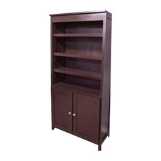 Forest Designs Furniture - Urban Bookcase With Lower Doors - Bookcases